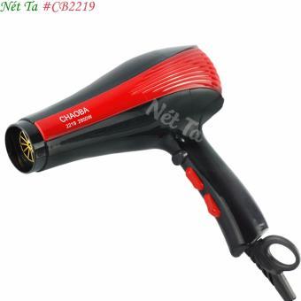 Máy sáy tóc Nét Ta CB-2219 (đỏ phối đen) + Tặng kèm bộ dụng cụ trộn mặt nạ 6 món tiện lợi
