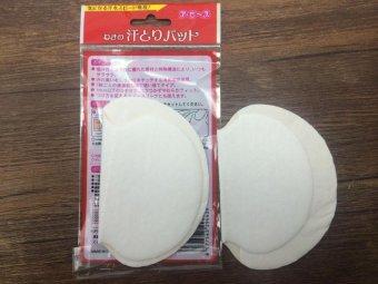 Bộ 10 Túi miếng dán thấm hút mồ hôi nách, khử mùi, diệt khuẩn - Hàng xuất Nhật