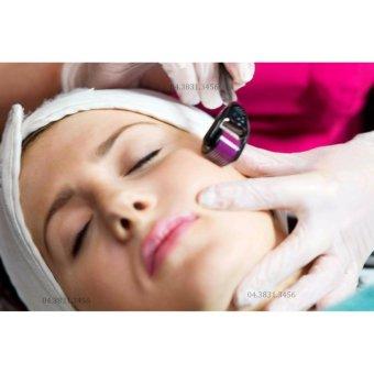Cây lăn kim dưỡng da, tái tạo collagen và cải thiện độ dày ZGTS-050 (Đen)