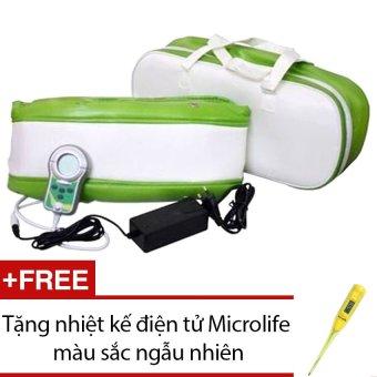 Đai massage bụng cao cấp Unicare UC-1002 + Tặng nhiệt kế điện tử Microlife màu sắc ngẫu nhiên
