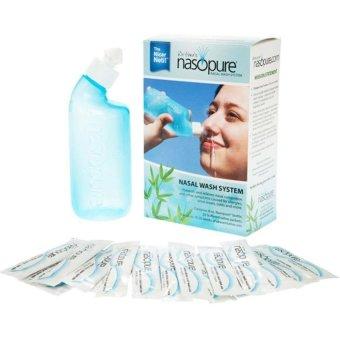 Bộ rửa mũi 250 ml và 20 gói Nasopure Nasal Wash System 20x3.75g