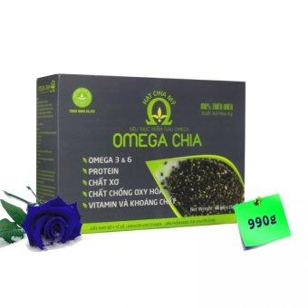Hạt chia Mỹ OMEGA CHIA 990g
