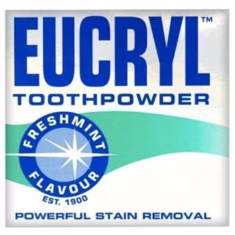 Bột làm trắng răng và tẩy sạch vết ố Eucryl Tooth Powder 50g