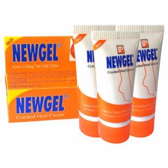 Bộ 3 kem chống nẻ chân NEWGEL 20g