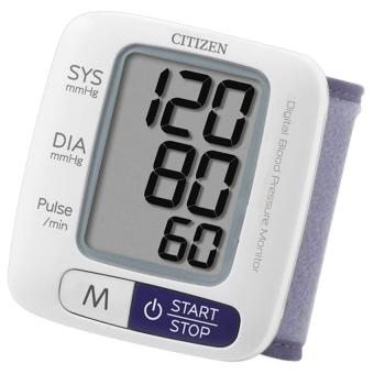 Máy đo huyết áp cổ tay Citizen CH-650 (Trắng)