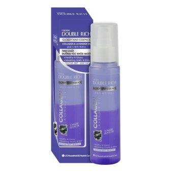 Double Rich Glossy Hair Essance Collagen & Lavender Oil - Tinh chất Dưỡng tóc khỏe mượt ( Collagen & Lavender) 120ml