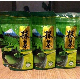 Bộ 3 Bột Trà Xanh Matcha Nhật Bản