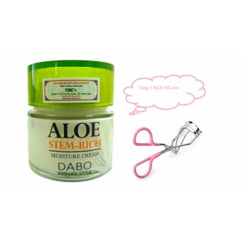 Kem Dưỡng Trắng Da Mặt Aloe Dabo Cream + Tặng 1 Kẹp Mí