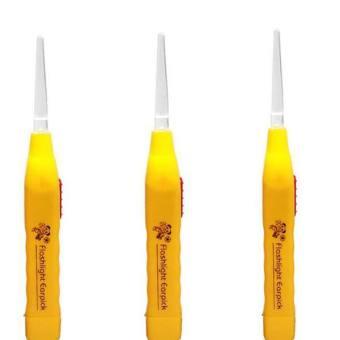 Bộ 3 dụng cụ lấy ráy tai có đèn Huy Tuấn RT (Cam)