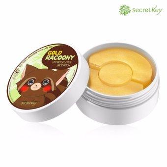 Mặt nạ đắp dưỡng da vùng mắt và trị mụn thâm 2 trong 1 Secret Key Golg Racoony Hydro Gel & Spot Patch