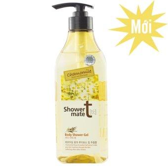 Sữa tắm mang lại cho bạn làn da trẻ đẹp Showermate Chamomile Hàn Quốc 550ml - Hàng Chính Hãng
