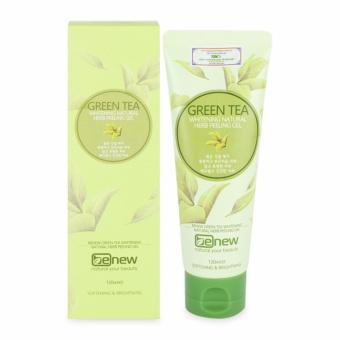 Tẩy da chết trắng da sạch mụn Green Tea Peeling Gel Cao cấp Hàn Quốc 120ml - Hàng chính hãng