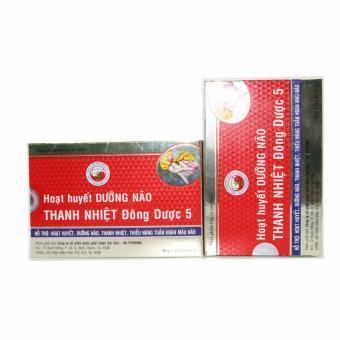 Bộ 2 hộp Hoạt huyết dưỡng não thanh nhiệt Đông Dược 5