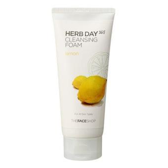 Sữa Rửa Mặt Làm Sáng Da Herb Day 365 Cleansing Foam Lemon 200G/7.05 Oz./50 Sheets