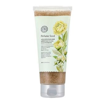 Tẩy Tế Bào Chết Cơ Thể Làm Trắng Da Perfume Seed White Peony Body Scrub (Tube) 200Ml/6.76Fl.Oz.