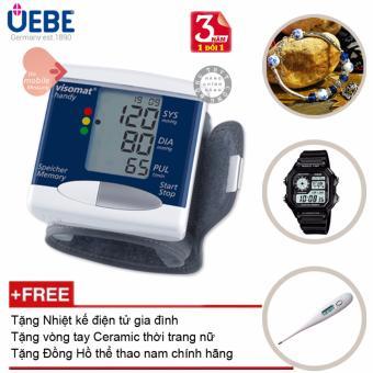 Máy đo huyết áp cổ tay UEBE Visomat Handy Cao Cấp