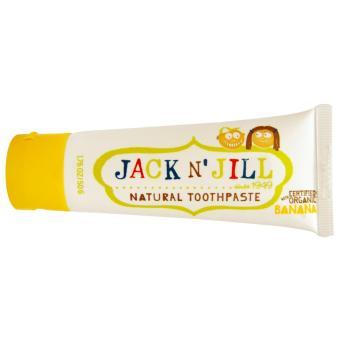 Kem đánh răng hữu cơ cho trẻ em Jack N Jill hương chuối 50g