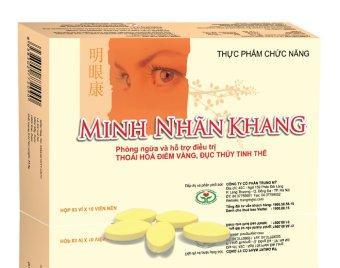 TPCN viên nén hỗ trợ điều trị bệnh đục thuỷ tinh thể Minh Nhãn Khang