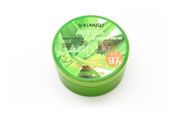 Gel dưỡng thể, dưỡng mặt lô hội 97% Anjo Aloe Vera Soothing Gel 97% 300ml