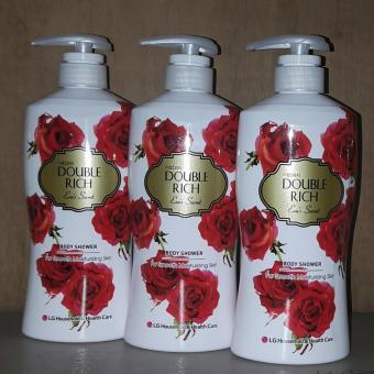 Sữa tắm DOUBLE RICH EVA'S SECRET Hương hoa hồng quyến rũ 800g