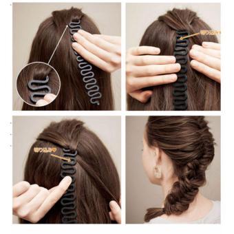 Mua 1 tặng 1- Dụng cụ tết tóc bé xinh ( đen)