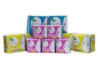 Băng vệ sinh cotton các loại 1 BELLE FLORA