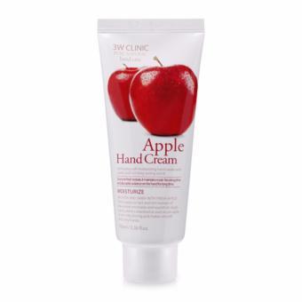 Kem dưỡng da tay chiết xuất táo 3W Clinic Apple Hand Cream 100ml