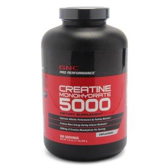 Bột uống giúp tăng khối cơ GNC Creatine Powder 500g
