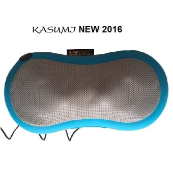 Gối massage hồng ngoại 6 Bi Kasumi Pillow (Xanh)