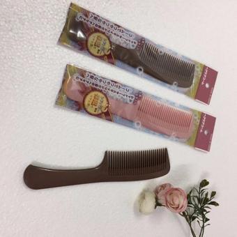 Lược chải dưỡng tóc suôn mềm mầu Hồng (MADE IN JAPAN)
