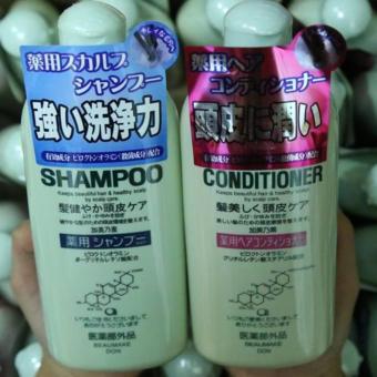 Bộ Dầu Gội Mọc Tóc Kaminomoto Medicated Shampoo 300Ml