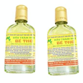 Bộ 2 chai tinh dầu tràm bé thơ nguyên chất 100ml