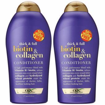 Bộ dầu gội và xã chóng rụng tóc Biotin Collagen 577ml Wowmart VN