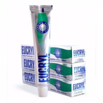 Kem Trắng Răng Và Sạch Vết Ố Vàng Răng Miệng Eucryl Toothpaste 50ml