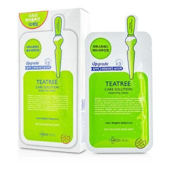 Mặt nạ dưỡng da trị mụn chiết xuất trà xanh Mediheal Teatree Healing solution Essential Mask 25ml