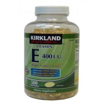 Viên Uống Đẹp Da Kirkland Signature Vitamin E 400iu 500 Viên (500 Viên Nang Mềm)
