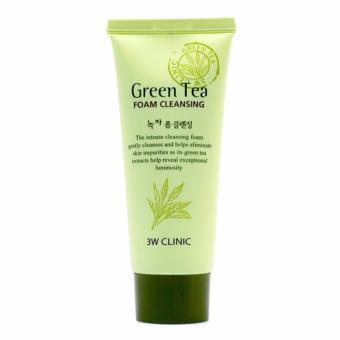 Sữa rửa mặt trà xanh Green Tea Foam Cleansing 3W Clinic 100ml