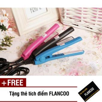Máy bấm tóc mini Flancoo 0372 (Đen) + Tặng kèm thẻ tích điểm Flancoo