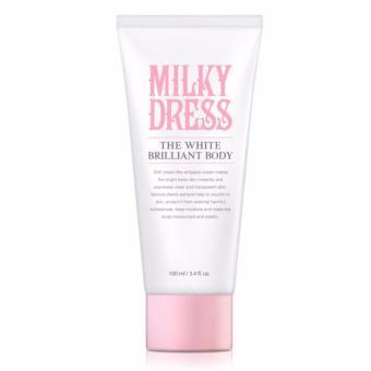 Sữa dưỡng trắng da toàn thân và làm săn chắc Milky Dress(100ml)