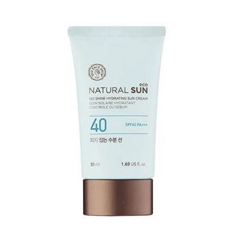 Kem Chống Nắng Kiểm Soát Nhờn Natural Sun Eco No Shine Hydrating Sun Cream Spf40 Pa+++ 50ML