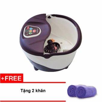 Bồn ngâm massage chân Buheung Korea MK-414 + Tặng 2 khăn tắm 50x20 cm