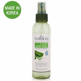 Xịt khoáng dưỡng ẩm và trắng da chiết xuất lô hội Enesti Suansu Aloe Vera Skin Mist Cao Cấp Hàn Quốc 150ml - Hàng Chính Hãng