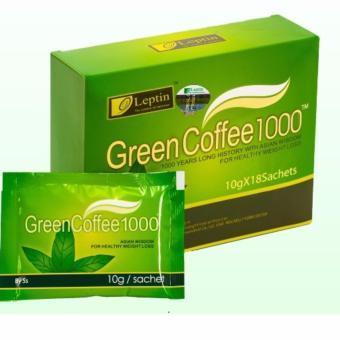 Cafe Giảm Cân Tan Mỡ Green Coffee 1000.