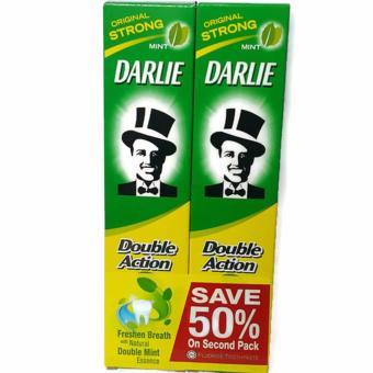 Combo 2 Kem Đánh Răng Darlie Double Action 225g