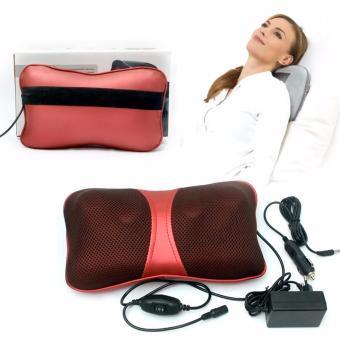 Gối mát-xa đa năng Massage 4bi (Đỏ)