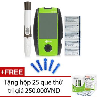 Máy đo đường huyết Uright TD-4267 + Tặng hộp 25 que thử