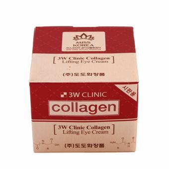 Kem dưỡng da chống lão hóa vùng mắt 3W Clinic Collagen Lifting Eye Cream 35ml