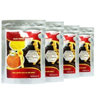 Bộ 4 gói tinh bột nghệ Curcumin Đất Việt 250g