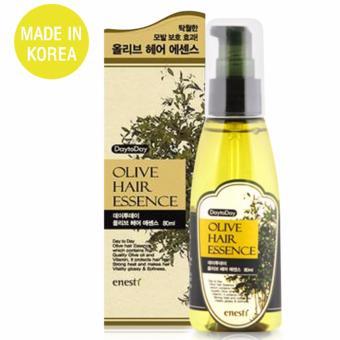 Mua Tinh chất phục hồi tóc hư tổn giảm xơ rối Olive Hair Essence Cao Cấp Hàn Quốc 80ml - Hàng Chính Hãng giá tốt nhất