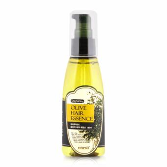 Tinh chất phục hồi tóc hư tổn giảm xơ rối Olive Hair Essence Cao Cấp Hàn Quốc 80ml - Hàng Chính Hãng